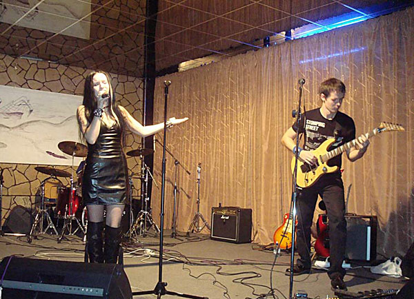 Мандрагора на концерте в Ступинском молодежном центре